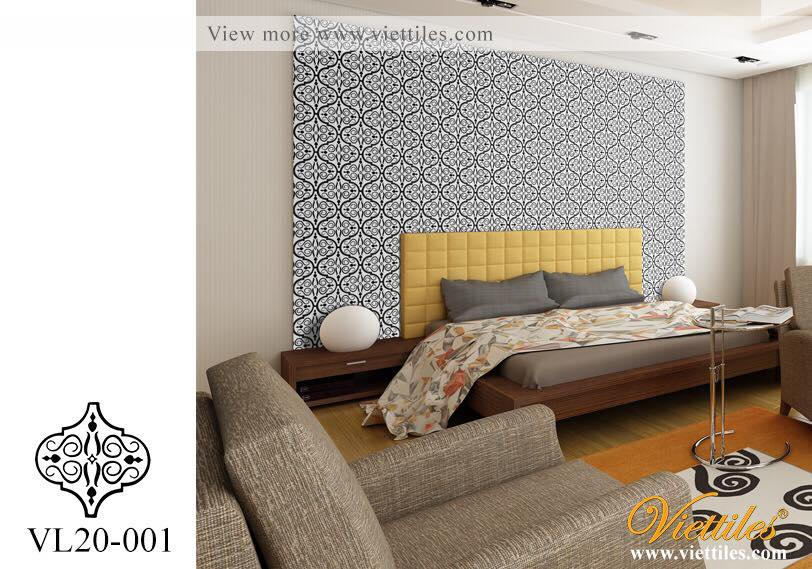 COLONIAL CEMENT TILES WITH DESIGN HAVE IDEA FROM LAMP