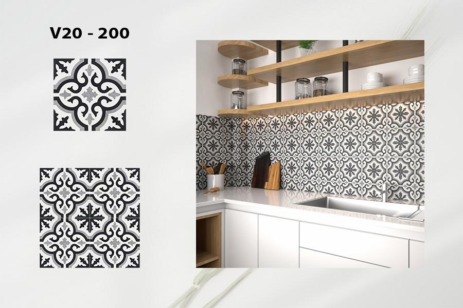 Classic Encaustice cement tile - A nostalgic taste of time