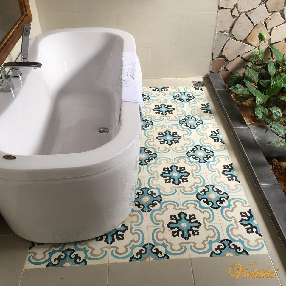 Classical Cement Tiles  - Inspiration for creative designs