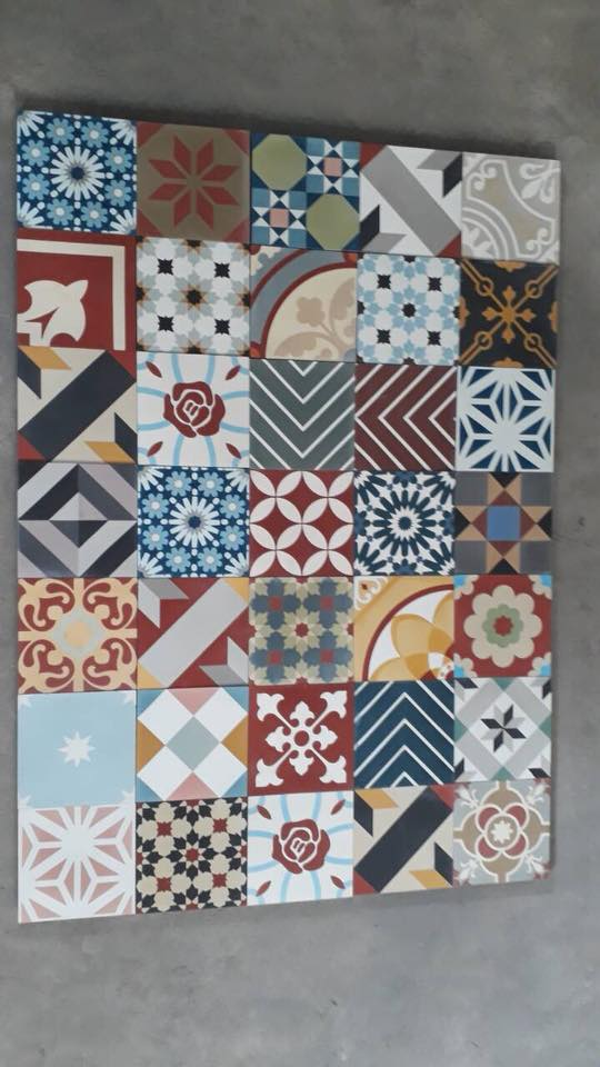 EACH DESIGN OF CEMENT TILES HAS OWN BEAUTY