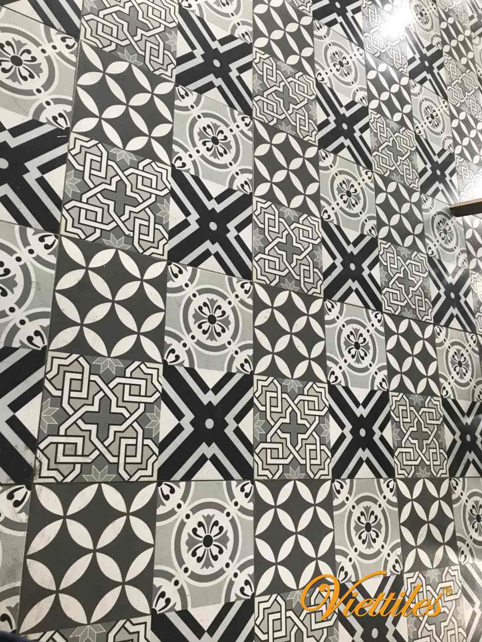 Variety of designs of Viettiles cotton tiles