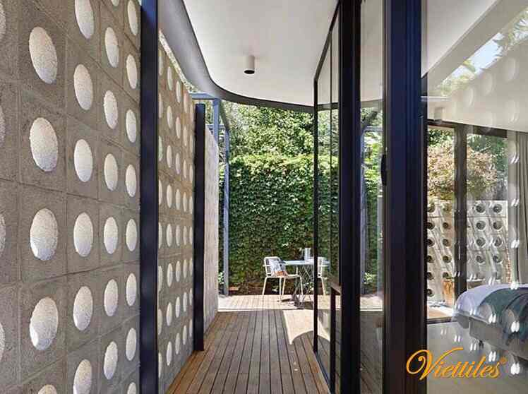 Customers in Australia use Viettiles breeze cement block