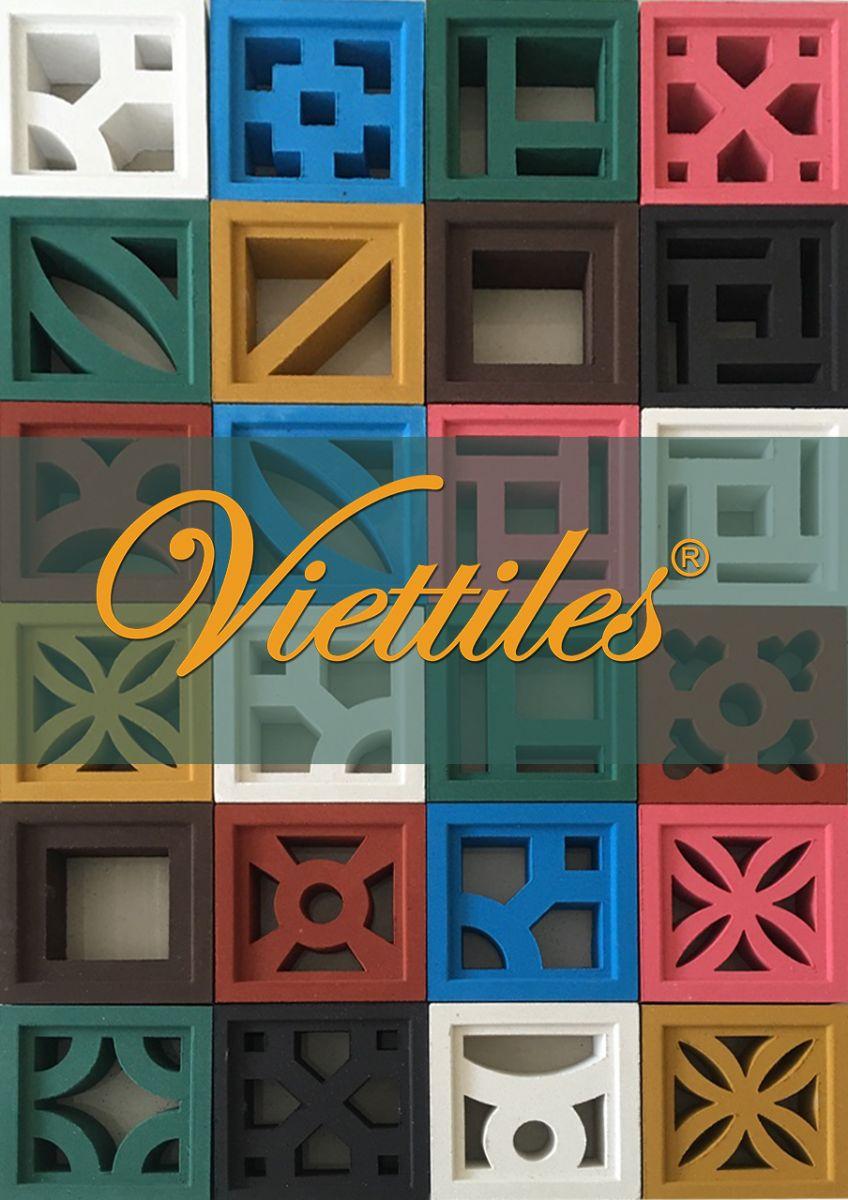 Bông gió màu Viettiles