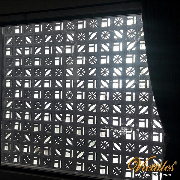 Partition from wind cotton tiles