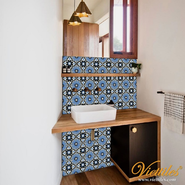 Use beautiful and unique tiles - wall tiles