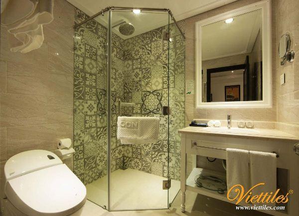 Báo giá gạch đá mài, gạch terrazzo giá rẻ rất thích hợp cho phòng tắm