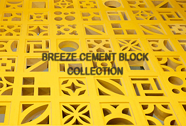 The collection of Viettiles breeze cement blocks