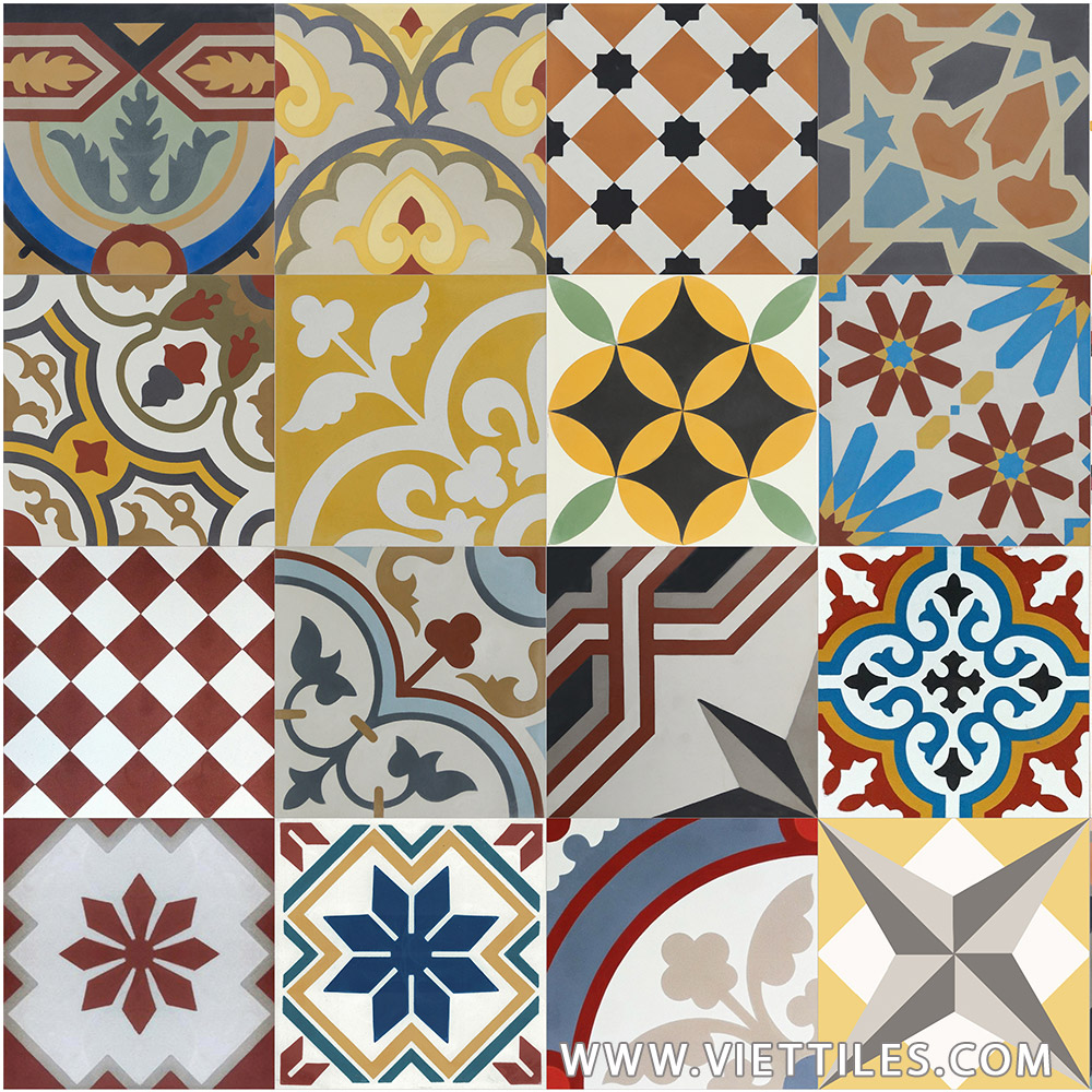 PatchWork Cement tile