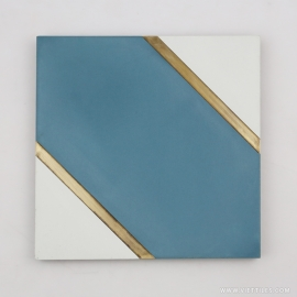 VM-001 Inlay Brass Tile