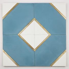 VM-001 Inlay Brass Tile