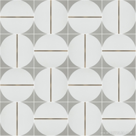 VM-002 Inlay Brass Tile
