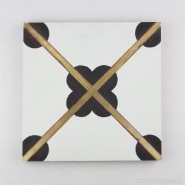 VM-003 Inlay Brass Tile