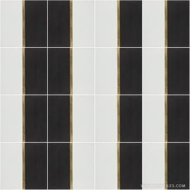 VM-004 Inlay Brass Tile