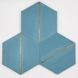 VHM-001 Inlay Brass Tile