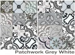 Grey White